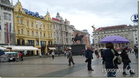 Очерк о столице Хорватии городе Загребе - из цикла *Путешествие по Хорватии...