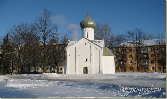 На этом фото - *Зимний день в Великом Новгороде...