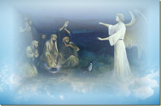 И сказал им Ангел: Не бойтесь; я возвещаю вам Великую Радость, которая будет всем человекам...