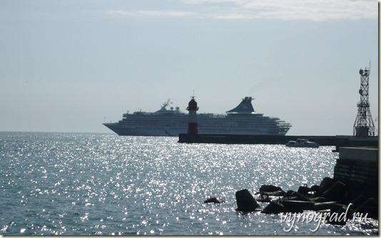 На этом фото - Море... Чёрное море...