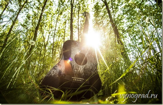 *А Музыкант тот... пел он лишь для БОГА...*