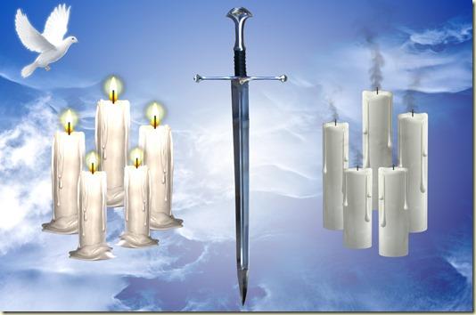И сказал Спаситель- Итак, бодрствуйте, потому что не знаете ни дня, ни часа, в который придёт Сын Человеческий.