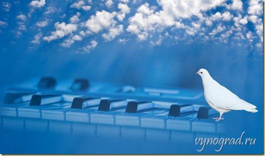 Ссылка этой картины открывает стихотворение *Сердце тоскует по Чуду... Автор Композитор Борис Кривоносов EVABOR...