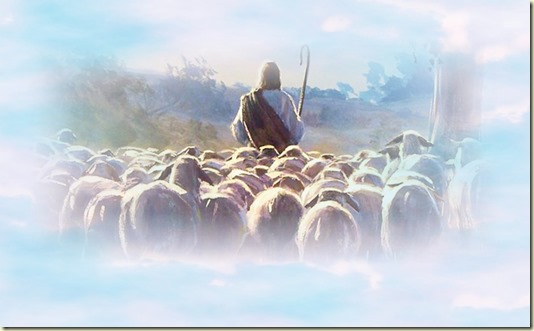 Эта Картина ясно напоминает о том, что сказал нам о Себе Сын Человеческий: Истинно, истинно говорю вам, что Я Дверь овцам. Кто войдёт Мною, тот Спасётся, и войдёт, и выйдет, и пажить найдёт. Вор приходит только для того, чтобы украсть, убить и погубить. Я пришёл для того, чтобы имели Жизнь и имели с избытком. Я есмь Пастырь Добрый: Пастырь Добрый полагает Жизнь Свою за овец... - читайте О НЕбесном...