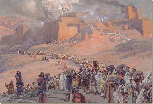На Картине показано, что многими столетиями еврейский народ подвергался жестокому, унизительному, бесчеловечному рабству - египетскому, вавилонскому, римскому, нацистскому...